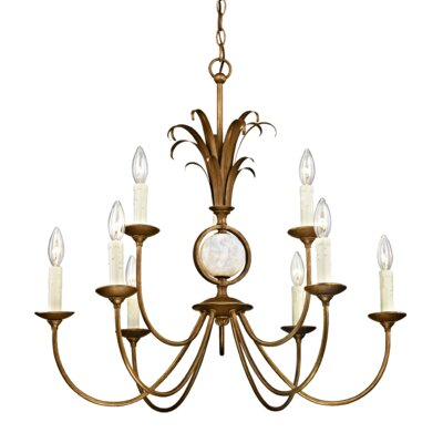 Hayes 9-Light Candle-Style Chandelier