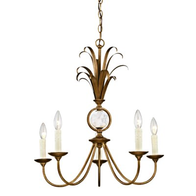 Hayes 5-Light Candle-Style Chandelier