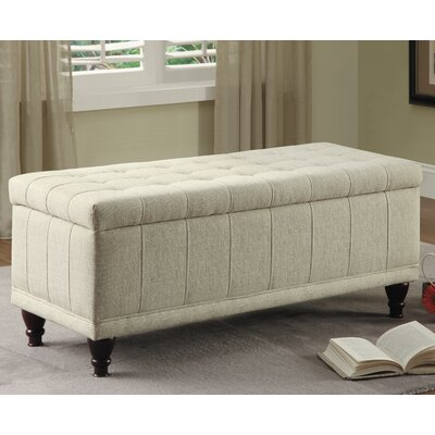 Attles Fabric Bedroom Storage Bedroom Bench