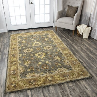 Lamothe Hand-Tufted Multi Area Rug Rug Size: 5 x 8