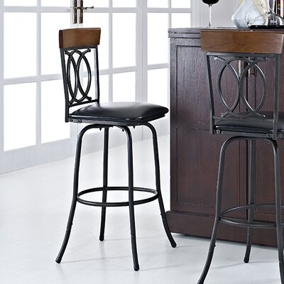 Charry Adjustable Height Bar Stool