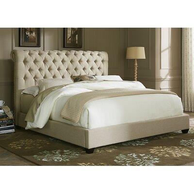Dellinger Upholstered Sleigh Headboard Size: King