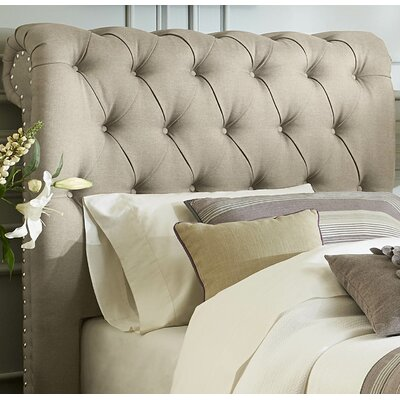 Dansville Upholstered Panel Headboard Size: Twin