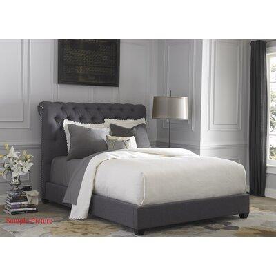 Dellinger Upholstered Sleigh Headboard Size: Queen