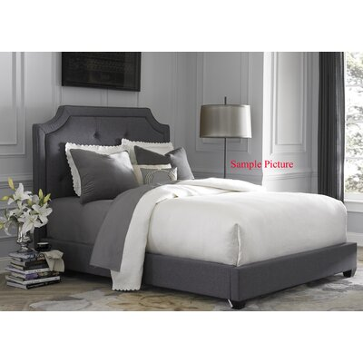 Dellinger Upholstered Panel Headboard Size: King