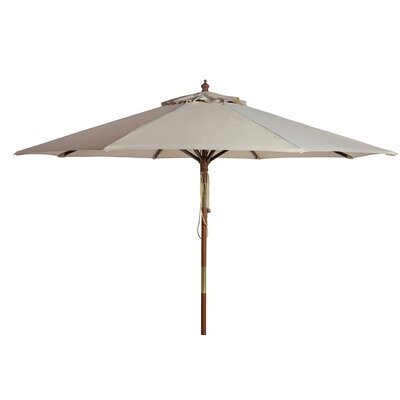 8 Darren Wooden Market Umbrella