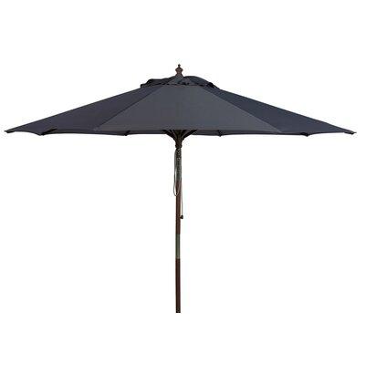 8 Darren Wooden Market Umbrella