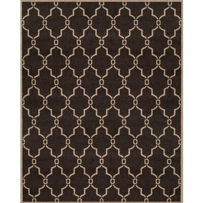 Darrel Chocolate/Beige Area Rug