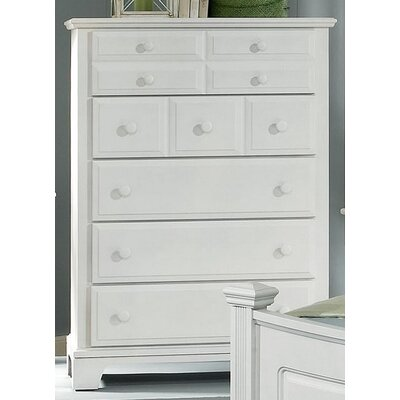 Cedar Drive 5 Drawer Chest Color: Snow White