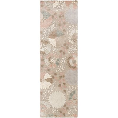 Keith Floral Area Rug Rug Size: Runner 26 x 8
