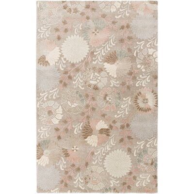 Keith Floral Area Rug Rug Size: Rectangle 5 x 8