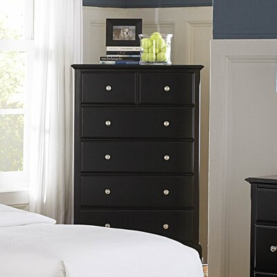 Belaview 5 Drawer Chest Finish: Cherry