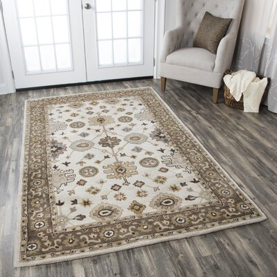 Lamothe Hand-Tufted Wool Brown Area Rug Rug Size: Runner 26 x 8