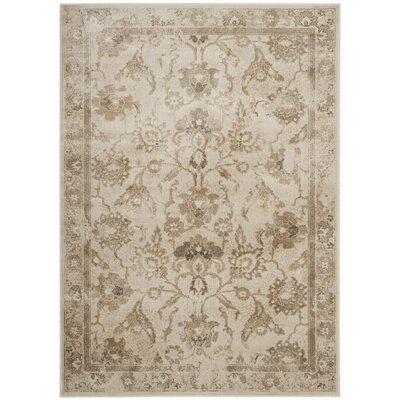 Curtis Beige Area Rug Rug Size: Rectangle 33 x 57