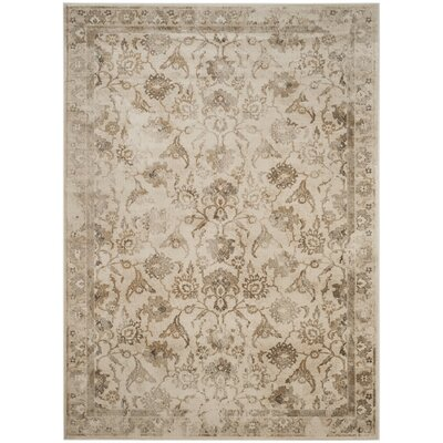 Curtis Beige Area Rug Rug Size: Rectangle 53 x 76