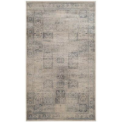 Ercole Green/Blue Area Rug Rug Size: Rectangle 33 x 57