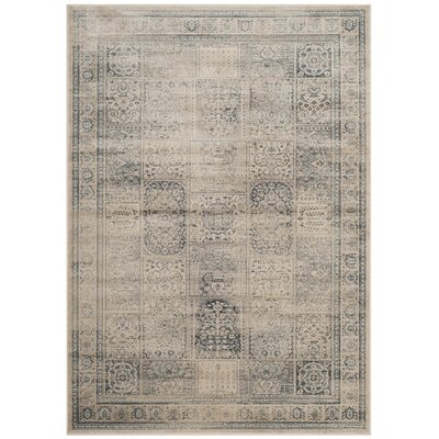 Ercole Green/Blue Area Rug Rug Size: Rectangle 4 x 57