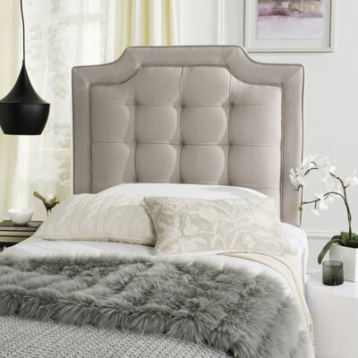 Findlay Upholstered Panel Headboard Size: Full, Upholstery: Pewter