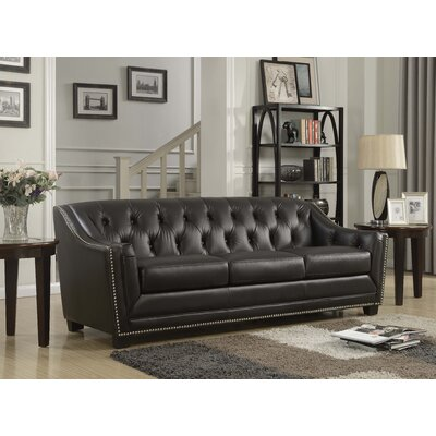 Tux Sofa Upholstery: Antique Coffee