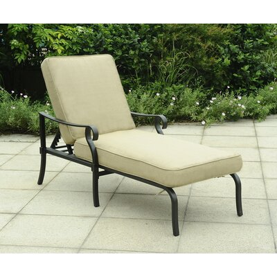 Smithville Chaise Lounge with Cushion
