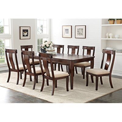 Barrackville Contemporary Extendable Dining Table