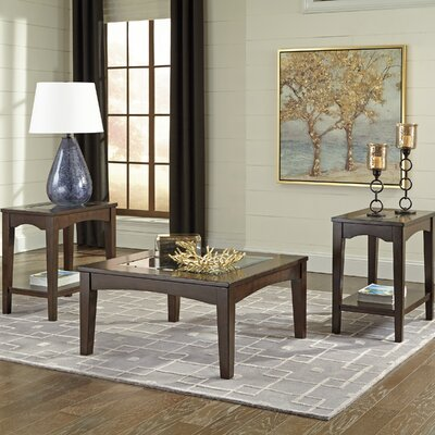 Barrine 3 Piece Coffee Table Set