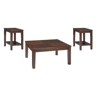 Barrington 3 Piece Coffee Table Set
