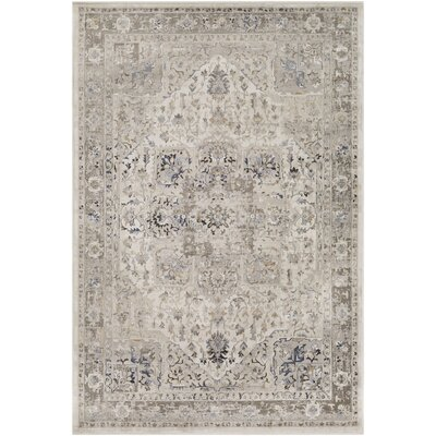 Basildene Gray Area Rug Rug Size: Rectangle 7 10 x 10 6