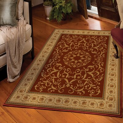 Arradale Spanish Red/Beige Area Rug