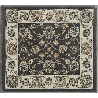 Atlasburg Charcoal/Ivory Area Rug Rug Size: Rectangle 111 x 211