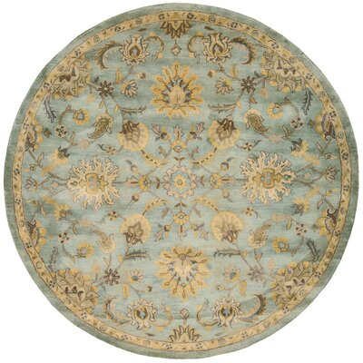 Delaware Light Blue Area Rug Rug Size: Rectangle 56 x 86
