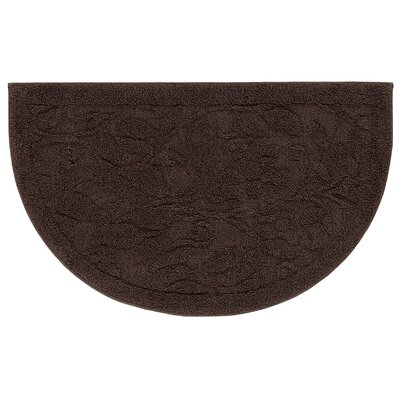 Berger Sage Bath Mat Size: 24 H x 39.6 W x 0.47 D, Color: Chocolate