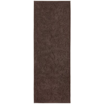 Berger Sage Bath Mat Size: 26.2 H x 72 W x 0.47 D, Color: Chocolate