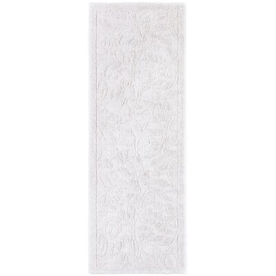 Berger Sage Bath Mat Size: 26.2 H x 72 W x 0.47 D, Color: Natural