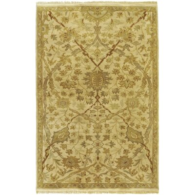 Bawley Gold Area Rug Rug Size: Rectangle 39 x 59