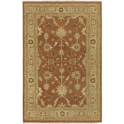 Bayles Brown/Tan Area Rug Rug Size: 39 x 59