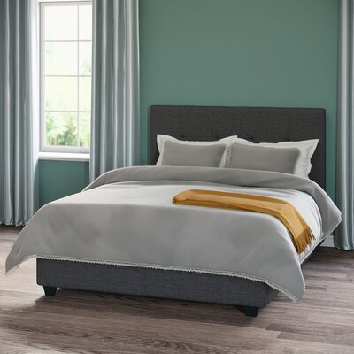 Ipava Duvet Set Color: Gray, Size: Full / Queen