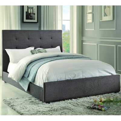Roodhouse Upholstered Panel Bed Size: Queen