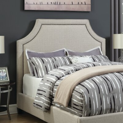 Bayley Upholstered Panel Headboard Size: Queen