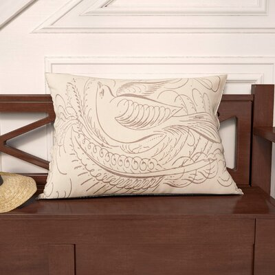 Sheppard Bird Lumbar Pillow