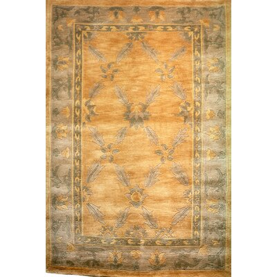 Yasmina Green Indoor/Outdoor Area Rug Rug Size: 9 x 12