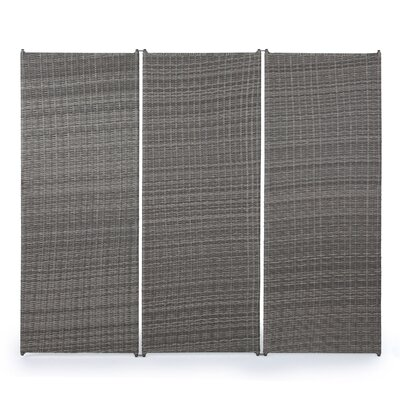 Zula Outdoor 3 Panel Room Divider
