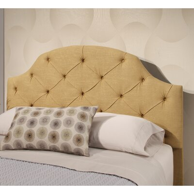 Ana Tufted Panel Headboard Upholstery: Gold