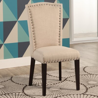 Charlene Side Chair Upholstery: Ivory
