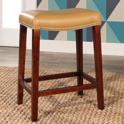 Melinda Bar Stool Upholstery: Camel