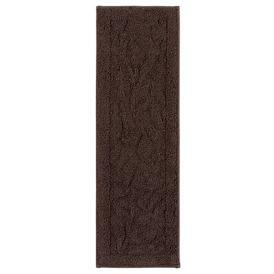 Jeanette Accent Rug Chocolate Brown Stair Tread
