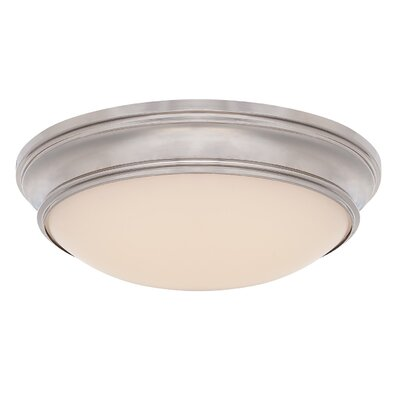 Margaret 1 Light Flush Mount Finish: Polished Nickel