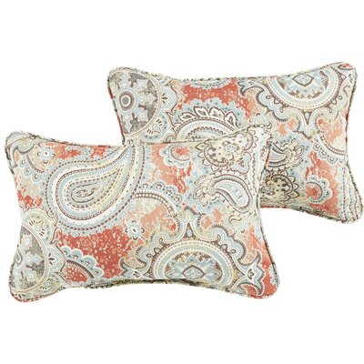 Lebaron Paisley Indoor/Outdoor Lumbar Pillow