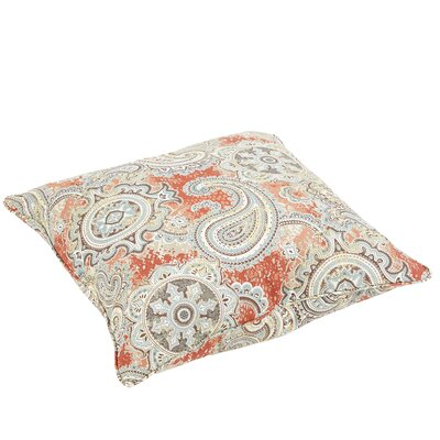 Lebaron Paisley Indoor/Outdoor Floor Pillow