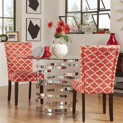 Lea Parsons Chair Upholstery: Samba Red